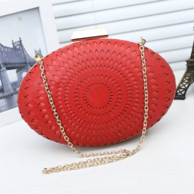 New White Shell Wedding Women Clutch Handbag Leather Shoulder Messenger Bags for Female Candy Color Day Clutches
