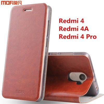 "Redmi 4a case xiaomi redmi 4 pro case cover redmi 4 case flip case MOFi original Xiaomi Mi Redmi 4 leather funda capa coque 5"""