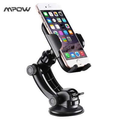 Mobile Cell Phone Holder for Car Steering-Wheel MCM12 Mpow Car Mount Grip Pro 2 Dashboard Adjustable Car Phone Holder Universal Cradle Windshield Holder Cradle