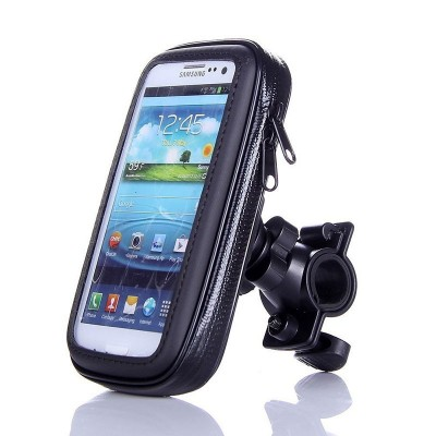 WaterProof Pouch Case Bag Bicycle Bike Mount Holder for Iphone6 Plus  for Samsung N7100/i9220/N7000 and other Mobile Cell Phones