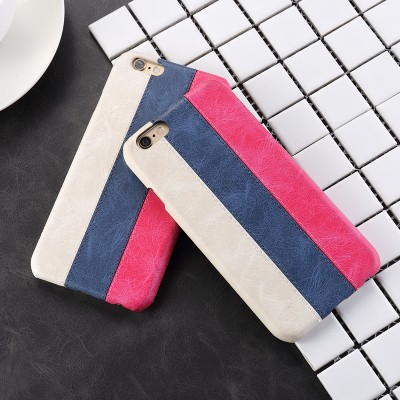 Phone Cases For iphone for iphone 6s plus case for iphone 6 plus Russian flag leather back cover for iphone 6 plus accessories mofi original stripe