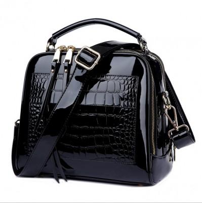New Shell bag Women Autumn And Winter Handbag Fashion Simple Handbags Leather Bag Patent Leather Woman Shell Bags High Quality