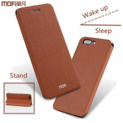 MOFi Case for Oneplus 5 case cover flip case silicone stand original mofi One plus 5 case flip 1+5 oneplus5 leather capa hard metal holder
