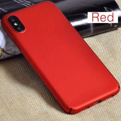 MOFI Phone Case for iphone X cover hard red PC for X case back cover red MOFi capa coque funda accessories simple 10 fit blue rose gold