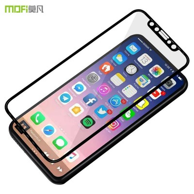 MOFI Phone Case For iphone X glass for iphoneX tempered glass X screen protector MOFi 3D full cover curved glass safety film display guard 5.8""