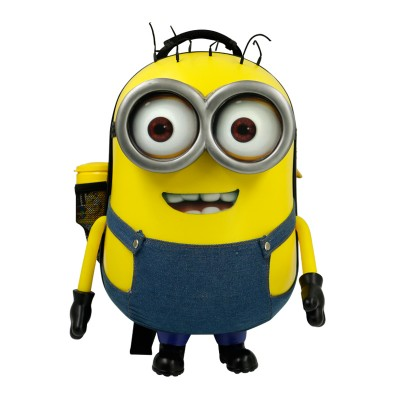 Laughter 4D anime Despicable Me kindergarten creative Minions school bag students travel bag kids backpack children cartoon gift