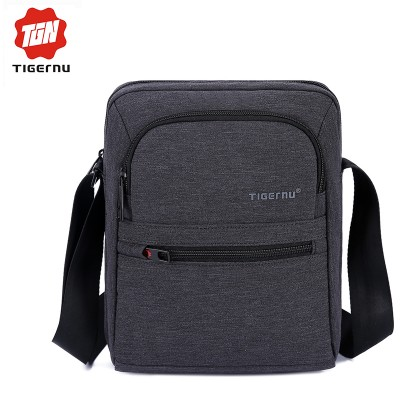 2017 Tigernu Brand High Quality  Men 's Messager Bag Business Shoulder  Bags Casual Travel Bag Women Cross body Bag
