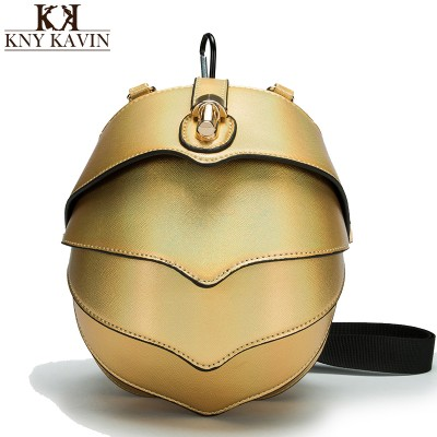 Animal Bags KNY KAVIN KK Brand New Messenger Bag Purse pangolin Cute Modeling package Creative men Waist Bags Women Locked Handbags