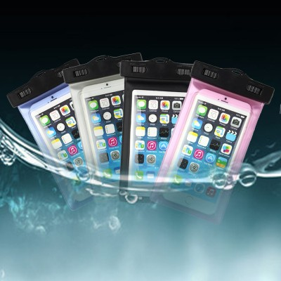 Universal Waterproof Pouch Case Cover For iPhone 6/6 Plus Cell Phones