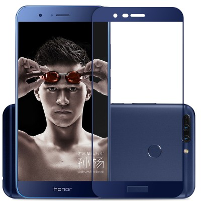 For Huawei honor v9 glass screen protectore tempered glass protective glass film 9H 2.5D full cover hard for huawei V9 glass
