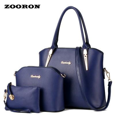 2017 new fashionable women leather handbags female bag mother package bag hand mother bill of lading shoulder bag women bag
