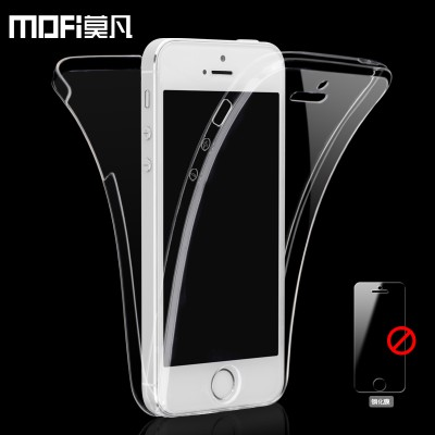 MOFI Case for iphone 5s case silicone coque double sides protection brand for iphone 5 cover ultra thin full super clear