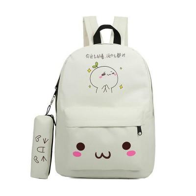 emoji bag school backpack youth kawaii printing backpack school bag cute emoji backpack emotion for teenagers  sac a dos ecole