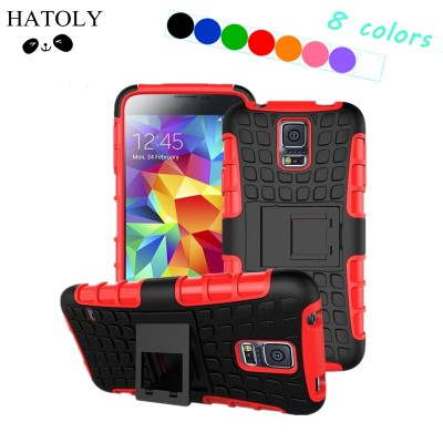 For Cover Samsung Galaxy S5 Case Heavy Duty Hard Rubber Silicone Phone Case for Samsung Galaxy S5 Cover for Samsung S5
