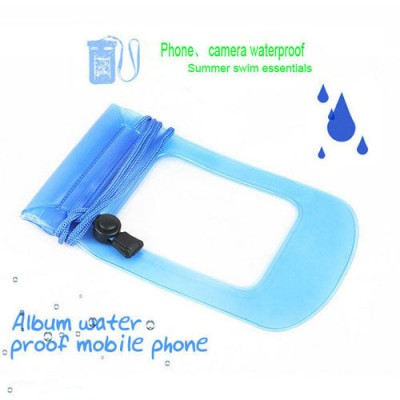 100PCS\lot Waterproof Pouch Dry Bag Case Water Proof Cover Holder For Cell Phones MP3 Watch