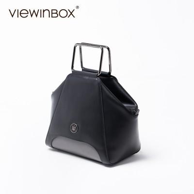 Viewinbox Brand Designer High Quality Solid Ladies Handbag Elegant Women Shell Leather Bag Bolsa Concha Fashion Women's Bag