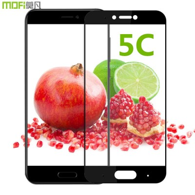 Xiaomi mi 5c glass screen protector xiaomi 5c tempered glass full cover 9H 2.5D xiaomi mi5c protective glass hard white black