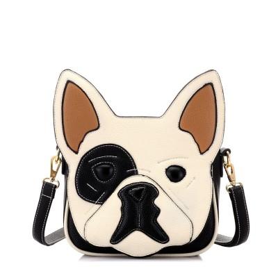 Women Bag 2017 New Fashion Women Messenger Bags Women PU Leather Handbag Cartoon Bag Owl Fox Shoulder Bags