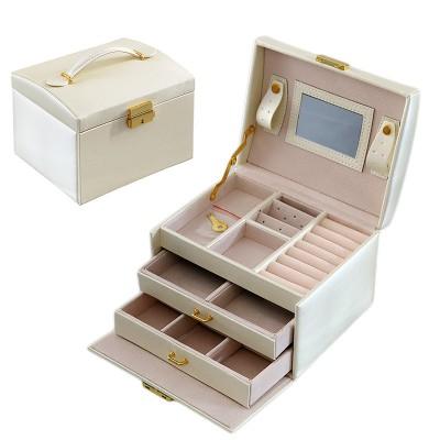Beauty Vanity Cosmetic Case Birthday Gift Makeup Organizer Storage Travel Train Cases Lipstick Storage Organizer Bag Makeup Case
