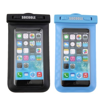 Socoole Waterproof Underwater Pouch Dry Bag Case Cover for Cell Phone Touchscreen