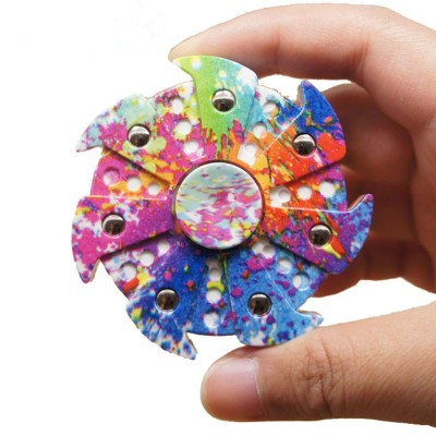 Finger Fidget Toys 2017 New Creative EDC Powerful Fidget Spinner Hand Finger Tri Spinner Camouflage Plastic Relieves Stress Fidget toy for Adults Fidget Toys for Children