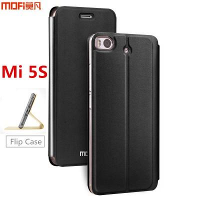 Xiaomi Mi5s case MOFi original xiaomi 5s case flip cover leather holder silicone Mi 5s gold gitter luxury capa coque funda 5.15