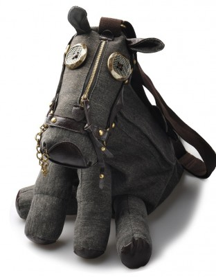 2017 Trend Animal Tide Creative Personality Pony Donkey Bags Shaped Female Diagonal One Shoulder Horse Bag Men Pack Bag