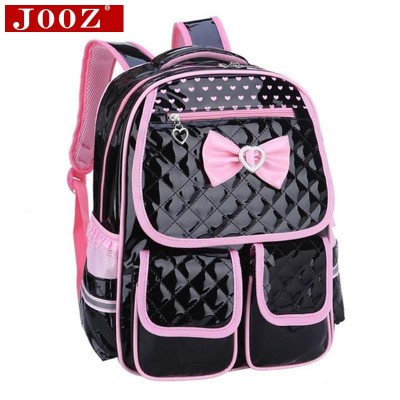 Backpacks for Girls New lovely Children School Bags for girls backpack Students leather Kids Book Bag butterfly Knot Backpacks for Teenage Girls
