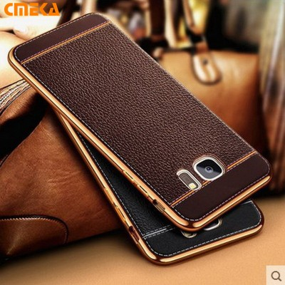 For Samsung s8 Case C5 C7 Luxury Plating Design Soft TPU Phone Case For Samsung Galaxy S7 Edge S6 s8 Plus C5 C7 C9 Pro Case