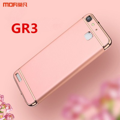 Huawei GR3 case cover MOFi original huawei enjoy 5s case luxury capa coque funda 3 in 1 joint rose gold hawei gr3 accessories Phone Cases For huawei