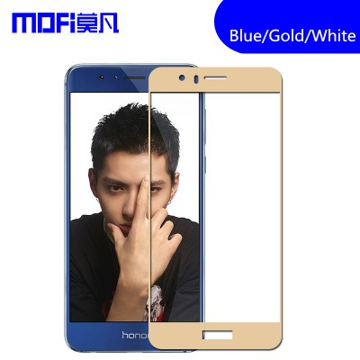 "Huawei honor 8 tempered glass honor 8 glass MOFi original huawei honor 8 screen protector accessories full cover glass 5.2"" Phone Cases For huawei"