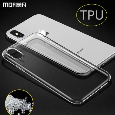 MOFI Phone Case For iphone X case TPU cover for iphone X edition case transparent silicone soft back cover thin clear jelly case for iphoneX 5.8