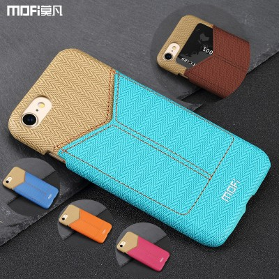 MOFi Case for iphone 7 card case wallet back cover plug-in card pack change pocket slot for iphone 7 case  multicolor brown capa