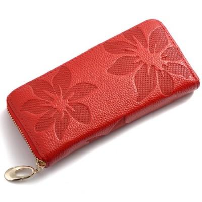 2017 Hot cowhide woman wallet long section handbag leather women wallet wholesale manufacturers Kapok