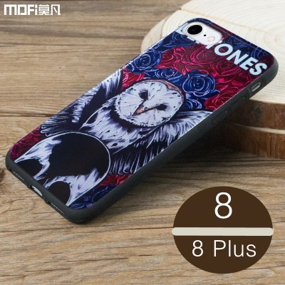 MOFI Phone Case For iphone 8 case cover MOFi original for iphone 8 plus case cover soft back case cartoon flower colorful cute bohemia pattern