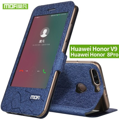 Huawei Honor 8 pro case Flip Leather cover Protection Soft Silicone Housing Slim Matte Phone Cases For Huawei Honor V9