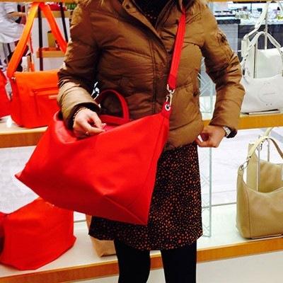 2017 Women bag Nylon bags genuine leather women famous brands Handbags beach fold Tote Shopping Bags Casual bolsa