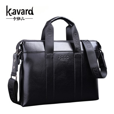Best Men's PU Leather Briefcases Bags Carteira Masculina Couro ...
