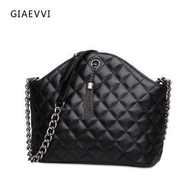 GIAEVVI 2017 brand women shoulder bag ladies crossbody luxury handbags genuine leather handbag shell bag women messenger bags