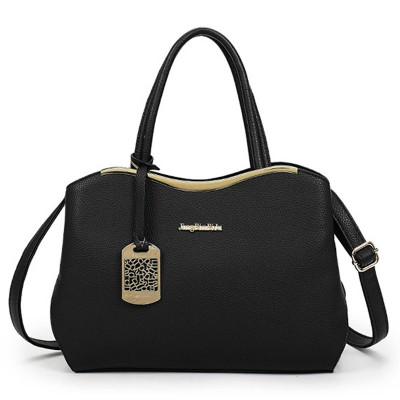 Pu Leather Handbag Shoulder Purse Tote Women Bag Satchel Messenger Crossbody Bags Soft Black Women's Bag Hobos Handbags New 2017