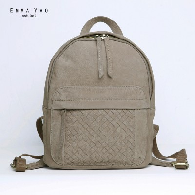 women backpack mini genuine leather bag Japanese style brand fashion backpack