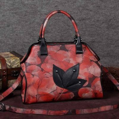 Vintage bags women's handmade first layer of cowhide female bag small handbag messenger bag female shoulder bag