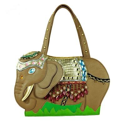 2017 Time-limited Women Zipper Shoulder Bags Cotton Beading Two New Bags Handbag Shoulder Bag Retro Elephant Xiekua Package