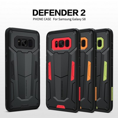 Shockproof Case For Samsung Galaxy S8 S8 Plus Note 8 NILLKIN Defender 2 Shield Back Cover Tough Cases For Samsung S8 Plus