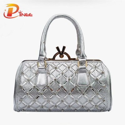 Rhinestone Handbags Designer Denim Handbags Women Leather Handbags Denim Shoulder Bag Womens Messenger Bags