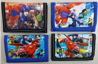 36 pcs New Cartoon Big Hero 6 Purses Coin Tri-fold Wallet