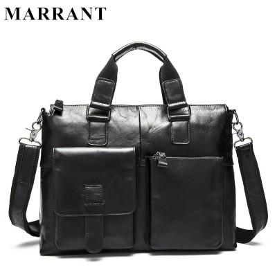 Genuine Leather Men bag Casual men's briefcase shoulder Bags Laptop crossbody messenger bag men leather men's travel bags 2017