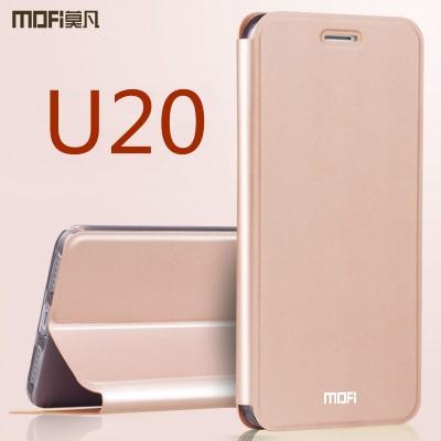 """Meizu U20 case cover meizu U 20 cover black MOFi original flip case holder stand meilan U20 cover case capa coque funda 5.5"""""""