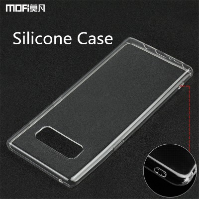 For Samsung galaxy note 8 case for samsung note8 case cover silicone soft back case transparent ultra clear capa for SM-N950F