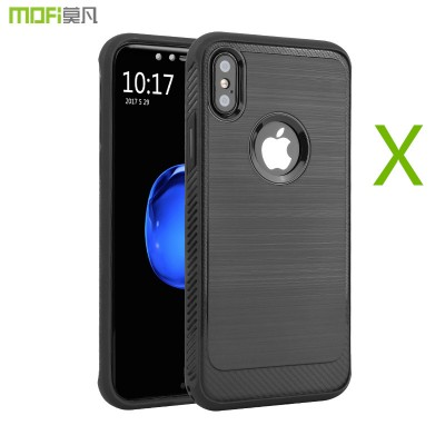 MOFI Phone Case For iphone X edition case cover MOFi back full cover black gray blue for Apple iphoneX case capa coque funda business iX